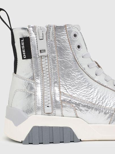 Diesel - S-RUA MC W, Silver - Sneakers - Image 4