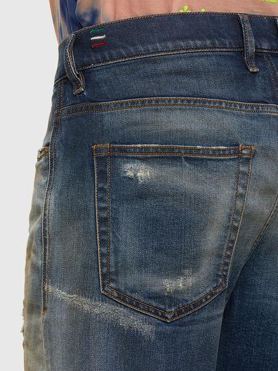 Diesel - D-Vider 009FR, Medium blue - Jeans - Image 5