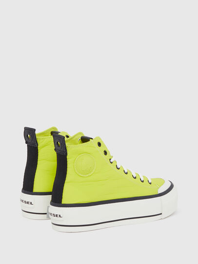 Diesel - S-ASTICO MC WEDGE, Yellow - Sneakers - Image 3