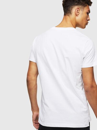 Diesel - T-RUBIN-POCKET-J1, White - T-Shirts - Image 2