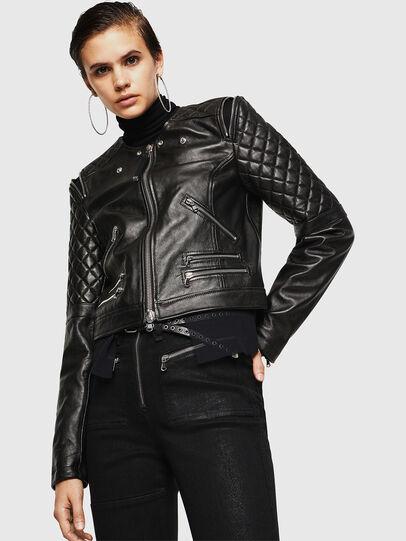Diesel - LIVIA,  - Leather jackets - Image 4