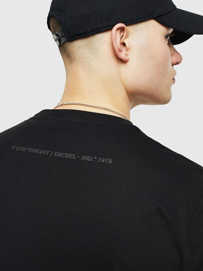 Diesel - T-JUST-T25, Black - T-Shirts - Image 4