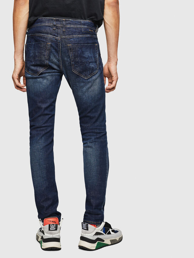 118c6fae TEPPHAR 087AT Men: Slim Dark blue Jeans | Diesel
