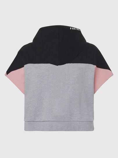 Diesel - UFLT-PHYLOSH-HOOD, Gray/Black - Sweaters - Image 2