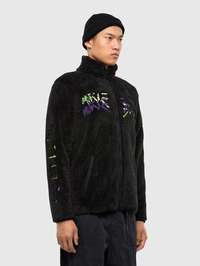 Diesel - S-FURIOUS, Black - Sweaters - Image 6