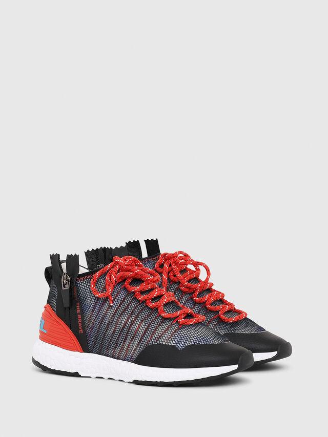 Diesel - SN MID 11 S-K YO, Blue/Red - Footwear - Image 2