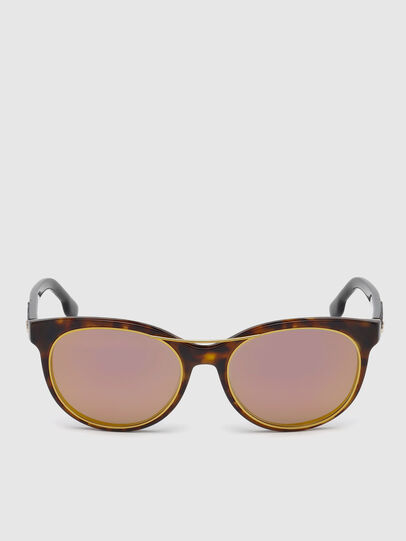 Diesel - DL0213, Brown - Sunglasses - Image 1