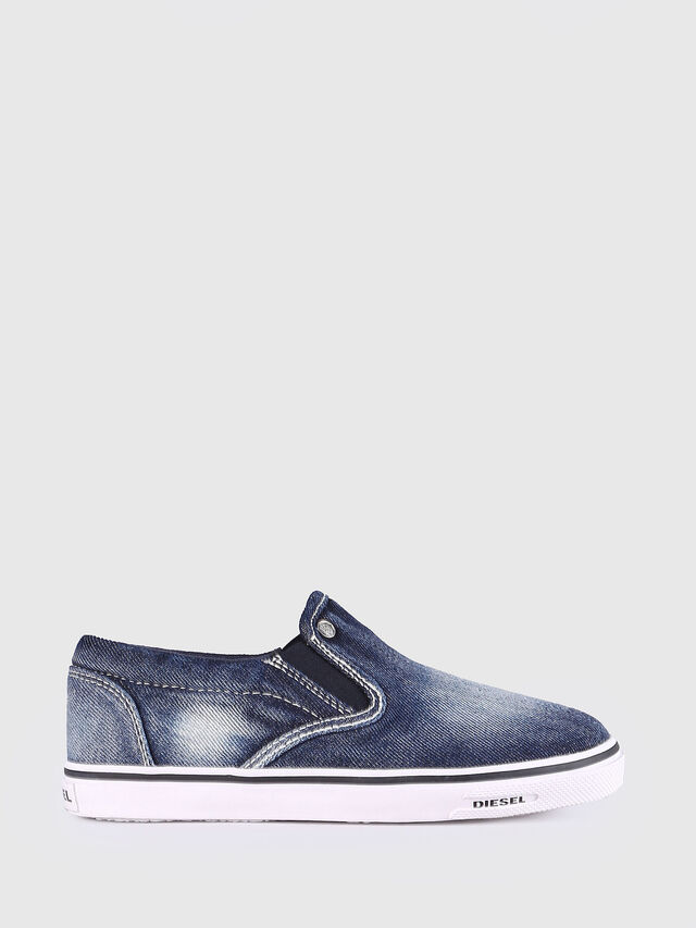 KIDS SLIP ON 21 DENIM YO, Blue Jeans - Footwear - Image 1