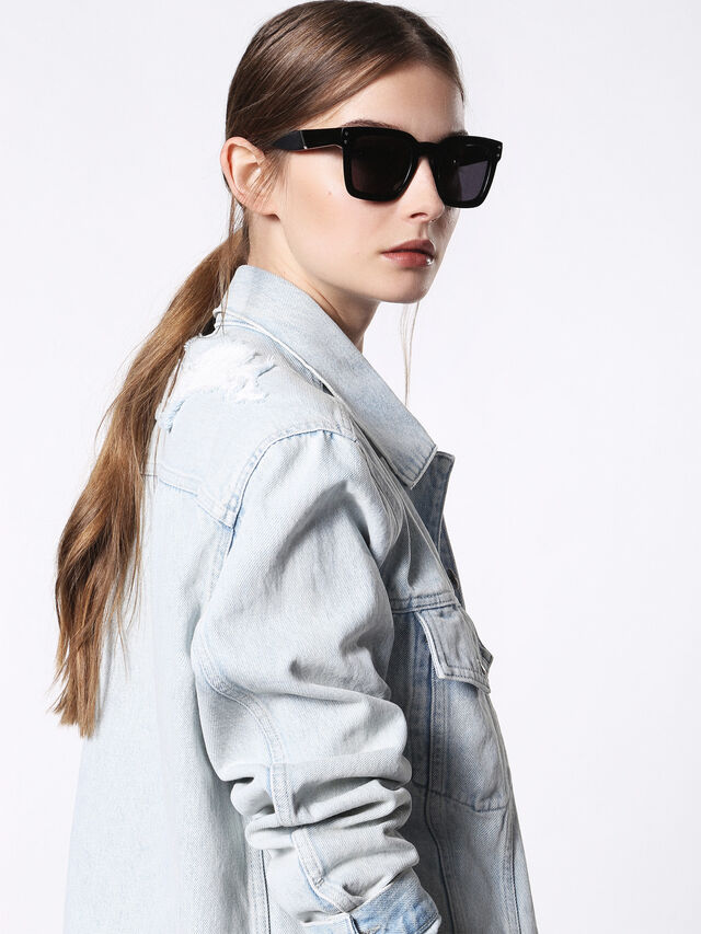 Diesel - DL0229, Black - Sunglasses - Image 3