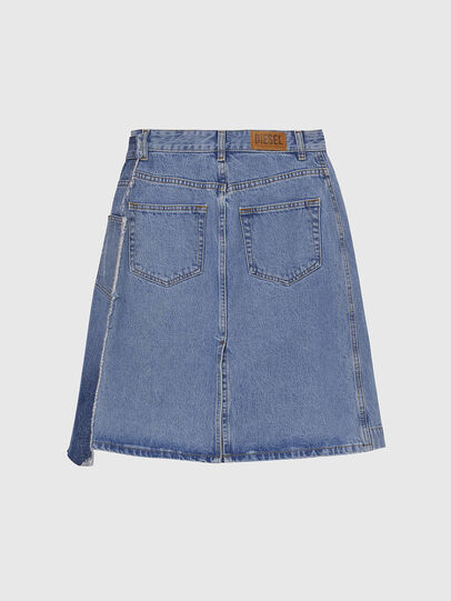 Diesel - DE-TOBY, Light Blue - Skirts - Image 2