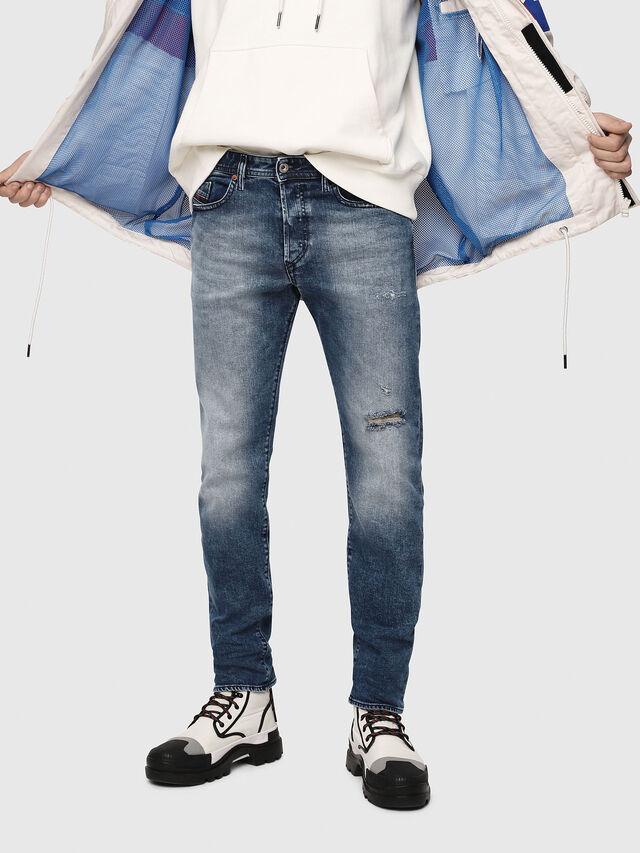 Diesel - Buster 081AQ, Medium blue - Jeans - Image 1