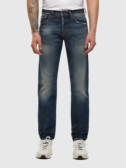 Diesel - D-Kras 009EW, Dark Blue - Jeans - Image 1