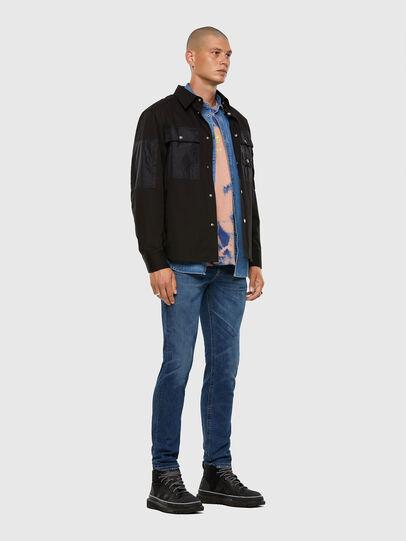 Diesel - Thommer 009DE, Dark Blue - Jeans - Image 5