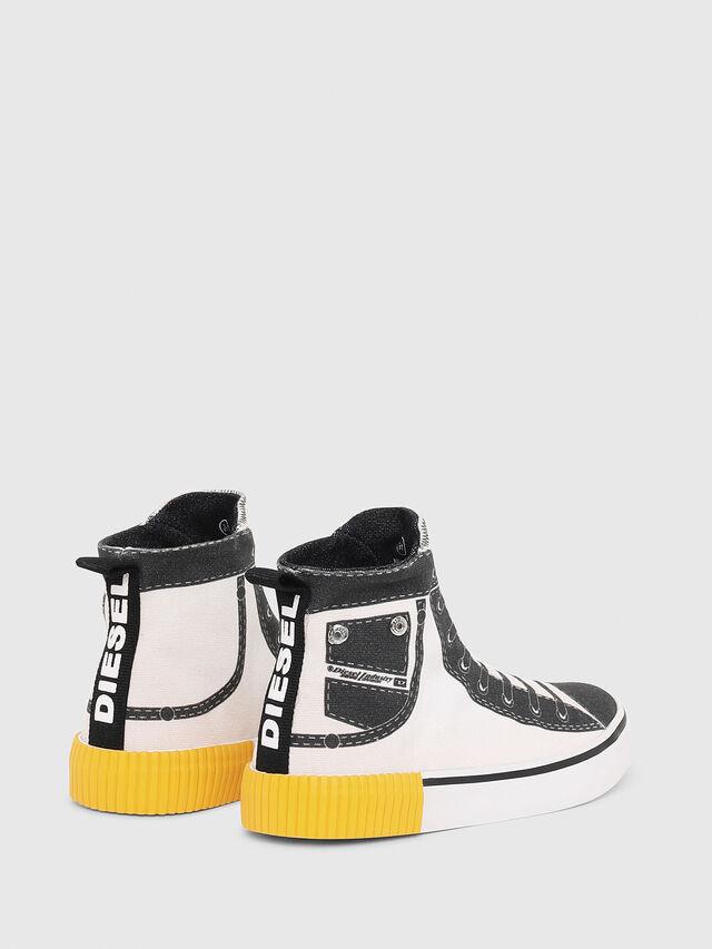 Diesel - SN MID 08 GRAPHIC CH, White/Black - Footwear - Image 3