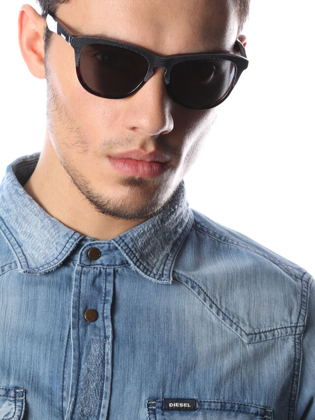 Diesel - DM0192, Dark Blue - Sunglasses - Image 6