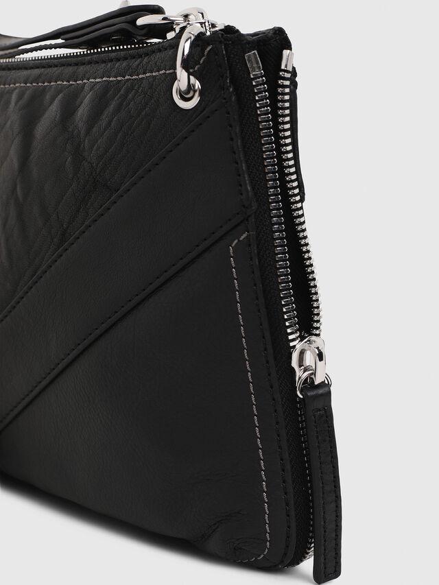 Diesel LE-LITTSYY, Black Leather - Clutches - Image 6
