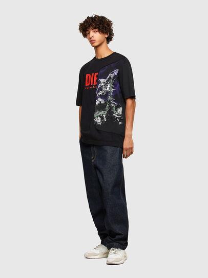 Diesel - T-BLAST, Black - T-Shirts - Image 4