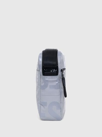 Diesel - X-BOLD DOUBLE CROSS, Grey - Crossbody Bags - Image 3