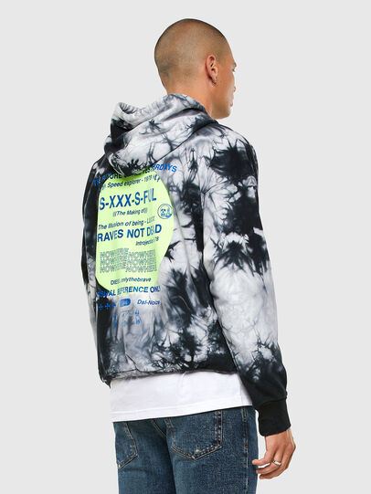 Diesel - S-MOONY, Black/White - Sweaters - Image 5
