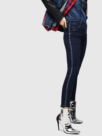 Diesel - Babhila 0096R, Dark Blue - Jeans - Image 6