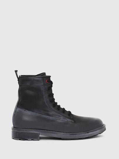 Diesel - D-THROUPER DBB, Black - Boots - Image 1