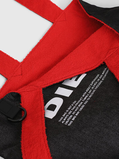 Diesel - F-THISBAG SHOPPER NS, Fire Red - Shopping and Shoulder Bags - Image 6
