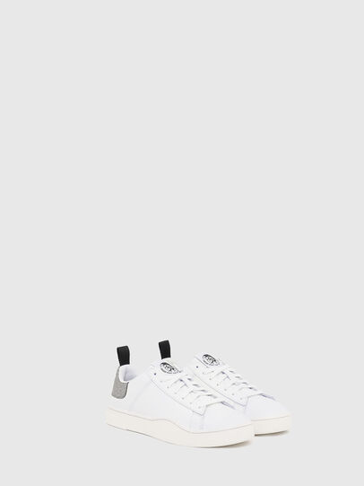 Diesel - S-CLEVER LOW LACE W, White/Silver - Sneakers - Image 2