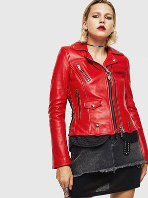 L-CARAMA, Red - Leather jackets