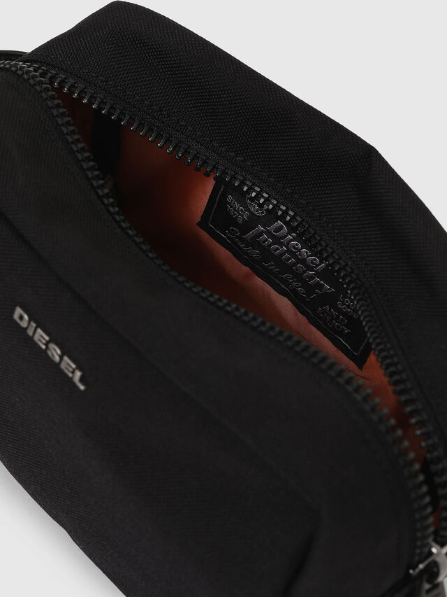 Diesel - F-URBHANITY POUCH, Black - Bijoux and Gadgets - Image 5