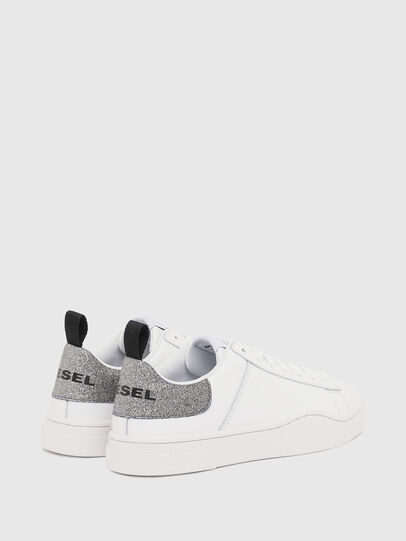 Diesel - S-CLEVER LOW LACE W, White/Silver - Sneakers - Image 3