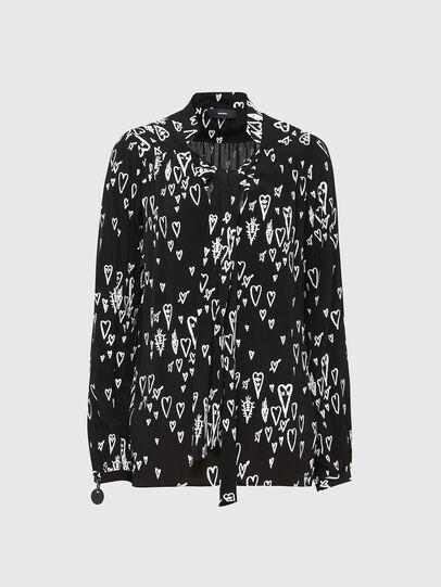 Diesel - C-DUANE, Black - Shirts - Image 1
