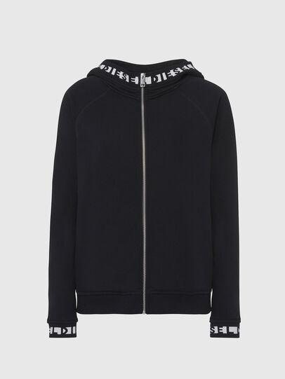 Diesel - UFLT-COVERY, Black - Sweaters - Image 1
