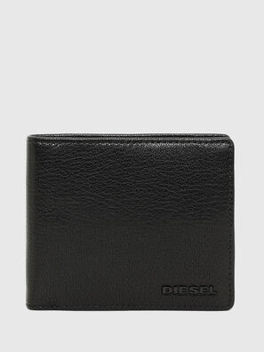 HIRESH S, Black/Green - Small Wallets