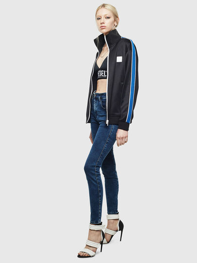 Diesel - Slandy High 0094Z, Dark Blue - Jeans - Image 5