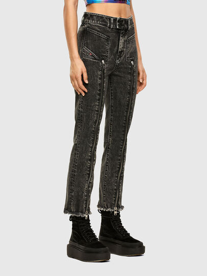 Diesel - D-Earlie 009DN, Black/Dark grey - Jeans - Image 4