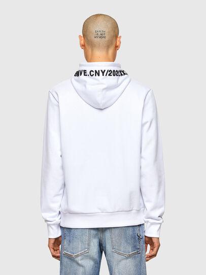 Diesel - CL-S-GIRK-HOOD-O, White - Sweaters - Image 3