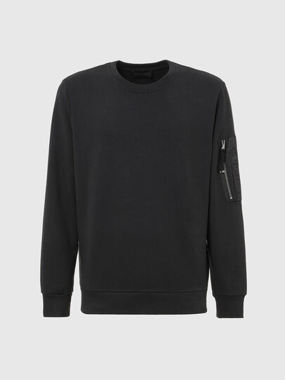 Diesel - S-IRIDIO, Black - Sweaters - Image 1