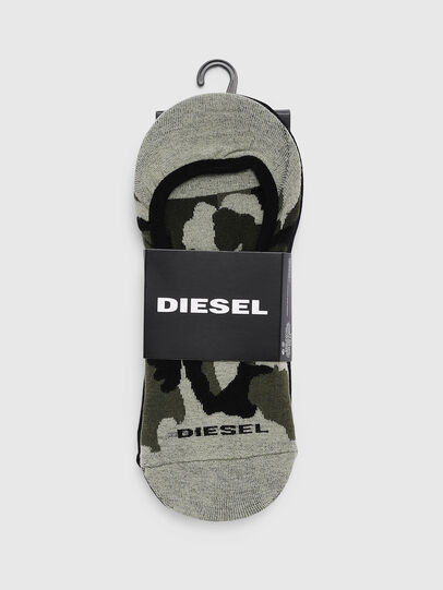 Diesel - SKM-HIDEPAT-TWOPACK, Gray/Black - Socks - Image 2