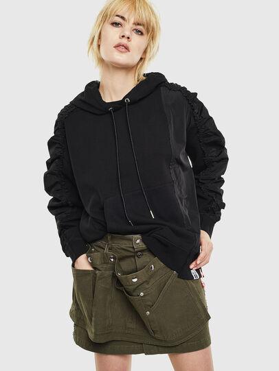 Diesel - F-ALLS, Black - Sweaters - Image 1