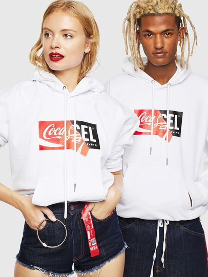 Diesel - CC-S-ALBY-COLA, White - Sweaters - Image 6