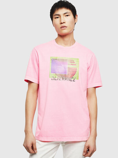 Diesel - T-JUST-NEON-S1,  - T-Shirts - Image 1