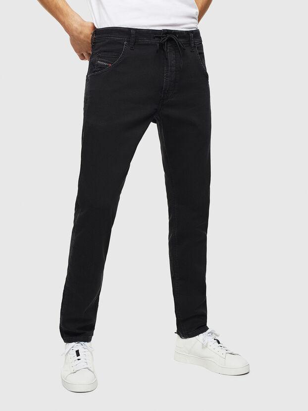 Krooley JoggJeans 0687Z, Black/Dark grey - Jeans