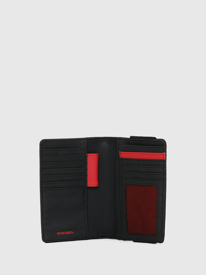 Diesel - ORGANIESEL, Black - Small Wallets - Image 3