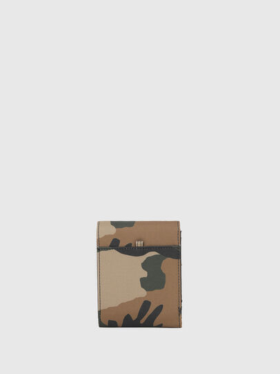 Diesel - HIRESH FD, Green Camouflage - Small Wallets - Image 2