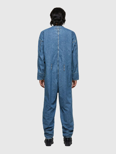 Diesel - DxD-TUTA, Light Blue - Jumpsuits - Image 4