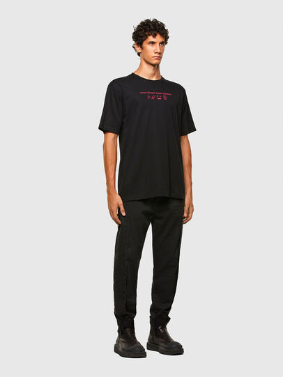 Diesel - T-TUBOLAR-N3, Black - T-Shirts - Image 5