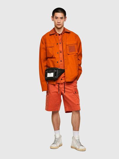 Diesel - S-GUNN-LS, Orange - Shirts - Image 5