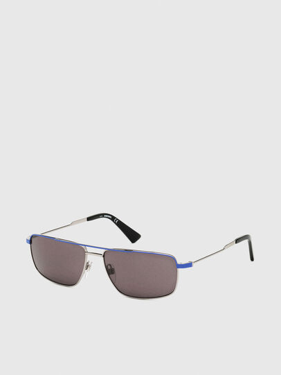 Diesel - DL0308, Blue/Grey - Sunglasses - Image 2