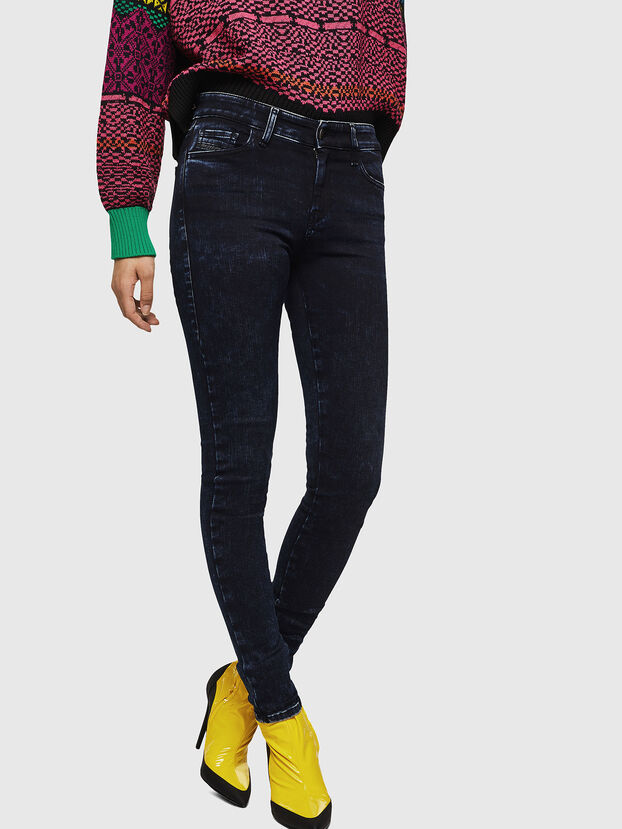 Slandy 082AU, Dark Blue - Jeans