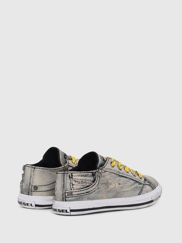 Diesel - SN LOW LACE DENIM 13, Grey Jeans - Footwear - Image 3